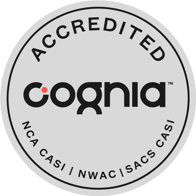 Cognia Accredited Badge